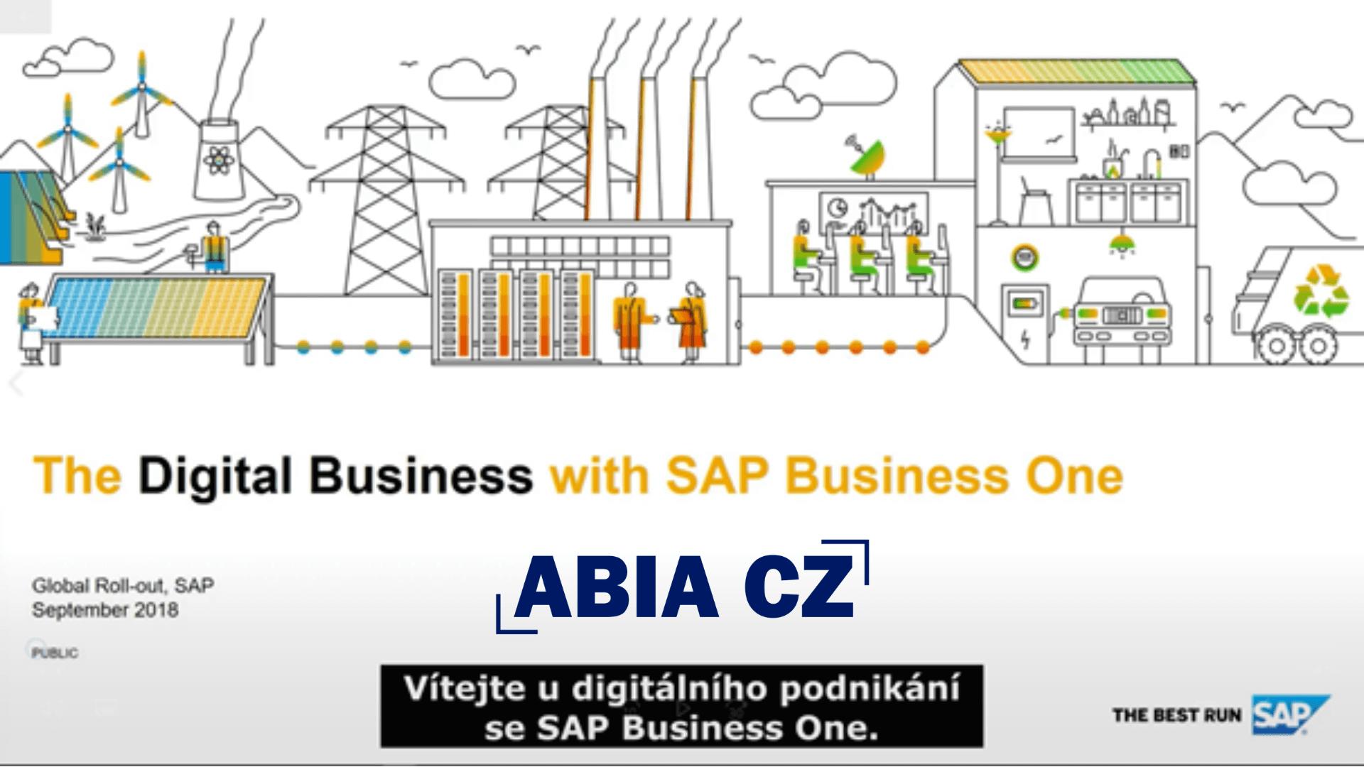 Digitální transformace se SAP Business One