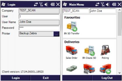 Online aplikace Produmex SCAN